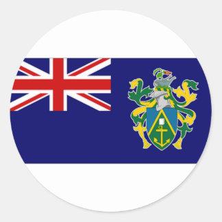 Pitcairn Islands National Flag Classic Round Sticker