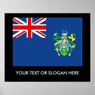 Pitcairn Islands Poster