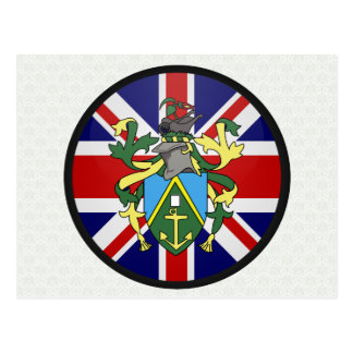 Pitcairn Islands quality Flag Circle Post Cards