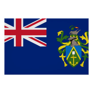 Pitcairn Islands, United Kingdom Poster