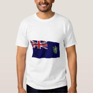 Pitcairn Islands Waving Flag Shirt