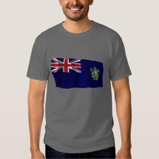 Pitcairn Islands Waving Flag T-shirt