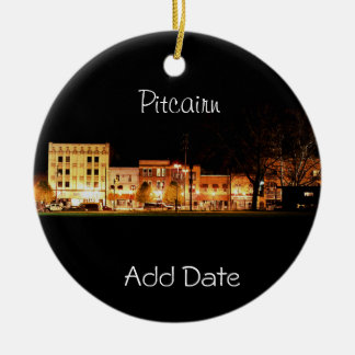 Pitcairn, PA-Photo-Holiday Ornament