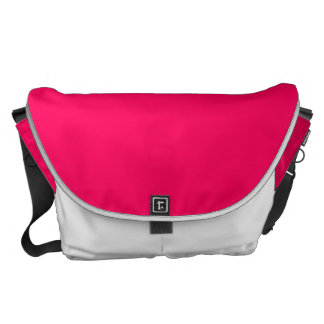 Pitcairn Pink-Rose-Hot Pink-Tropical Pink Courier Bag