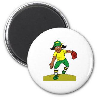 Pitch 2 Inch Round Magnet