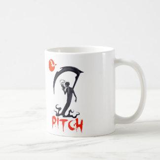 PITCH BLACK COFFEE MUG