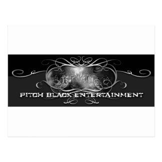 PITCH BLACK ENTERTAINMENT POSTCARD