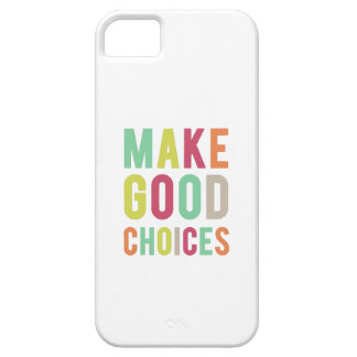 """Pitch Perfect """"Make Good Choices"""" iPhone SE/5/5s Case"""