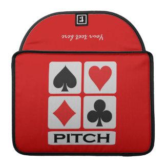 Pitch Player custom MacBook sleeve Sleeves For MacBooks
