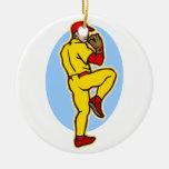 pitcher christmas ornament