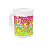 Pitcher Glitter Graphic Drink Pitchers