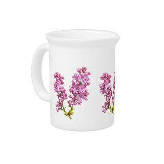 Pitcher - Lilac blossoms