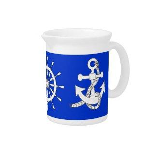 Pitcher - Nautical theme