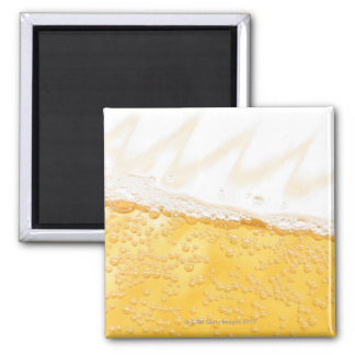 Pitcher of beer 2 inch square magnet