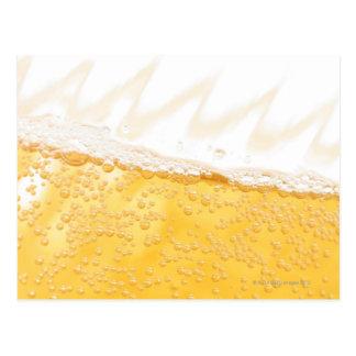Pitcher of beer postcard