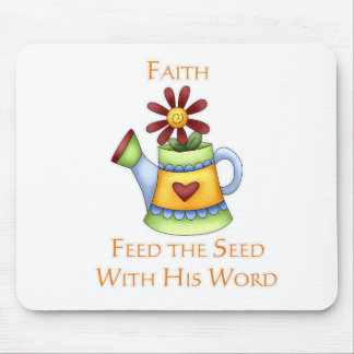 Pitcher of Faith Mouse Pad