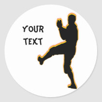 pitcher-personalized sticker