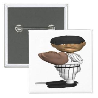 Pitcher Pinback Button