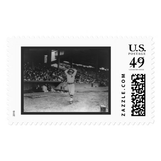 Pitcher Plank Athletics Baseball 1914 Postage Stamps
