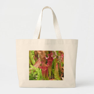 Pitcher Plants Large Tote Bag