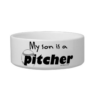 Pitcher (Son) Cat Food Bowl