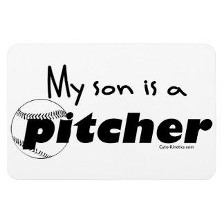 Pitcher (Son) Rectangular Photo Magnet