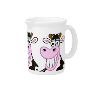 """pitcher """"the funny cow"""""""