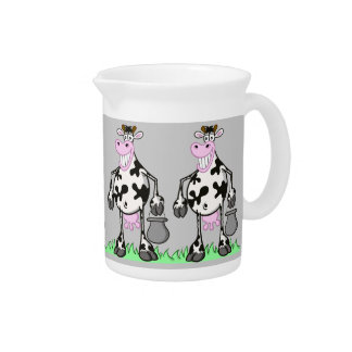 """pitcher """"the funny cows"""""""