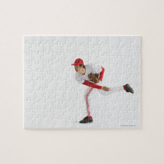 Pitcher Throwing Baseball Puzzle