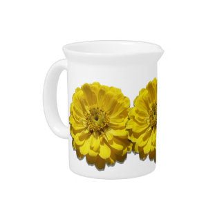 Pitcher - Yellow Zinnia