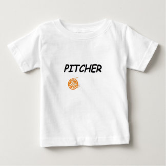 Pitcher - You know who's running the game! Baby T-Shirt