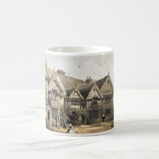 Pitchford Hall 16th Century White Coffee Mug