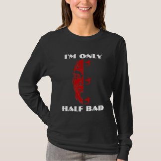 PITCHFORK 333 ONLY HALF BAD DEVIL T-shirt Design