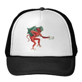 Pitchfork Devil Mesh Hat