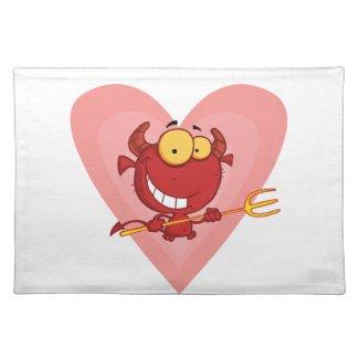 Pitchfork Devil Love Placemats