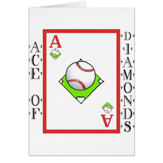 Pitching Ace: Ace of Baseball Diamonds Cards