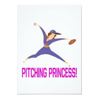 Pitching Princess Card