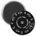 Pitchpipe Fridge Magnet