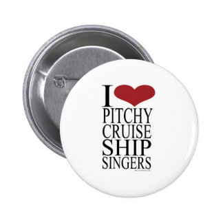 Pitchy Singers Rule Pinback Button