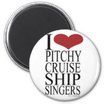 Pitchy Singers Rule Refrigerator Magnet