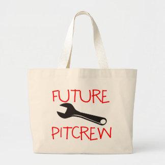 Pitcrew futuro bolsa tela grande