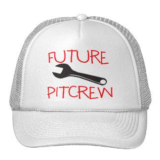 Pitcrew futuro gorras