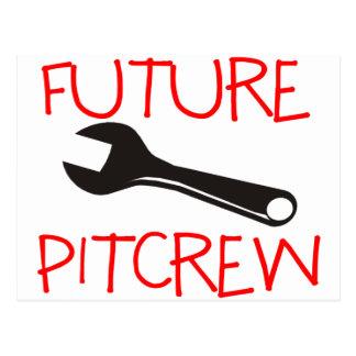 Pitcrew futuro tarjetas postales