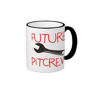 Pitcrew futuro taza de dos colores