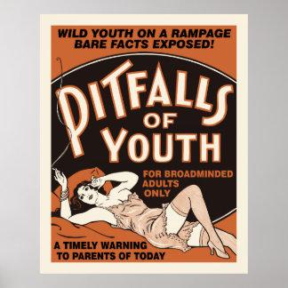Pitfalls of Youth Exploitation Poster