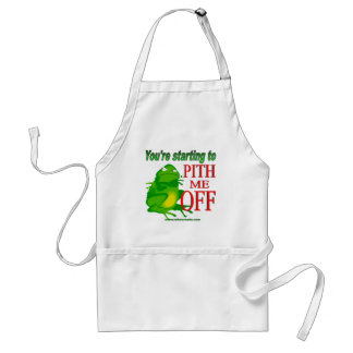 Pithed off frog 2 adult apron