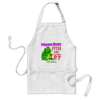 Pithed off frog adult apron