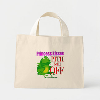 Pithed off frog mini tote bag