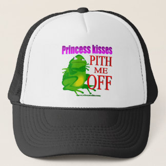 Pithed off frog trucker hat