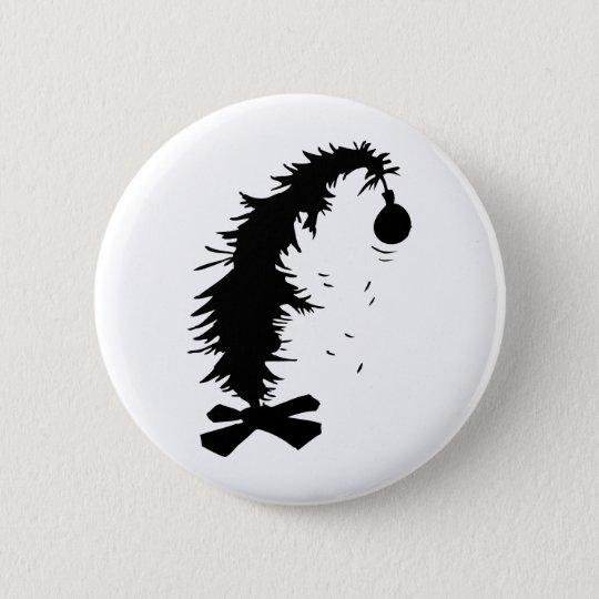 Pitiful Christmas Tree Pinback Button